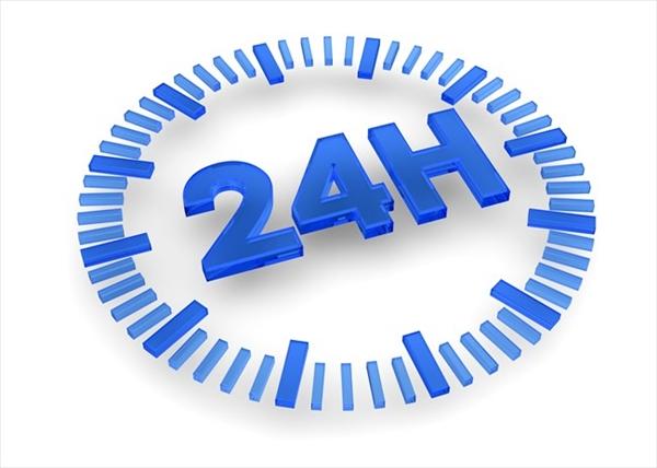 24時間365日振込み対応